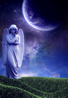 Purple Angel - Image by Kerri McClellan - Fotolia.com